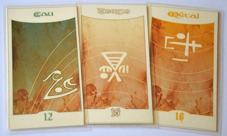 Cartes 12, 15, 16