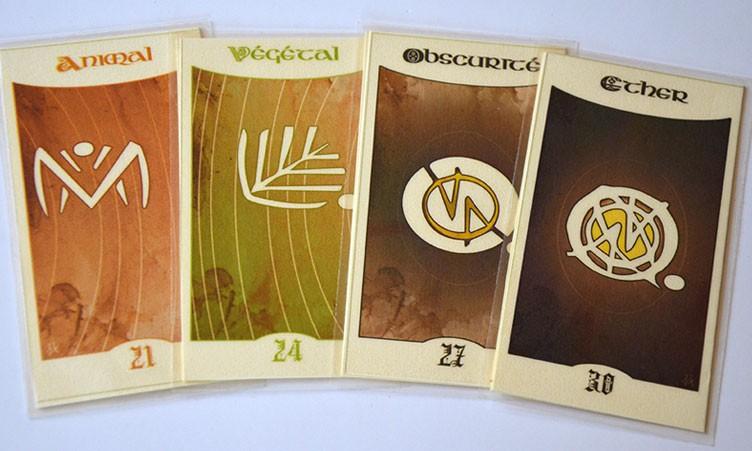 Cartes 21, 24, 27, 30