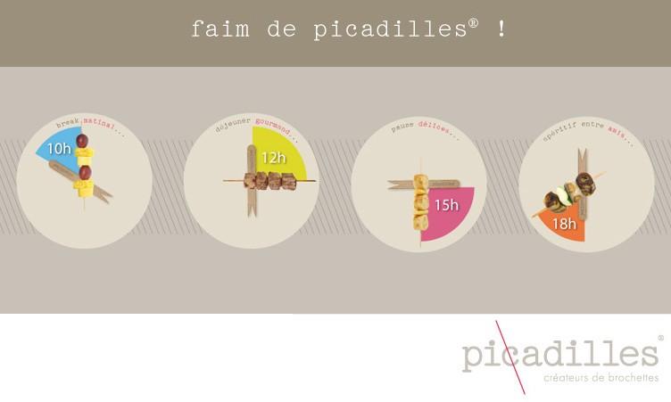 Affichage Picadilles